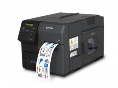 Epson industrial grade high speed full color label