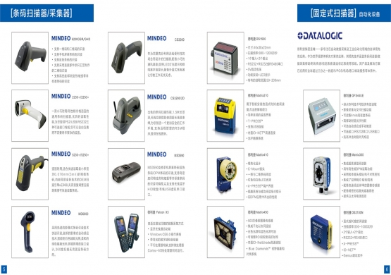 Fixed scanner Barcode scanners collector